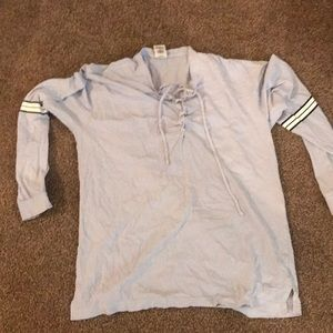 Victoria Secret Pink long sleeve with tie up